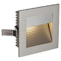 SLV LED-inbouwlamp Frame Curve 111292 LED 1 W Zilver Aluminium