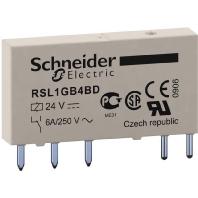 RSL1GB4BD (10 Stück) - Relais Slim 24V 1W Gold 6A RSL1GB4BD