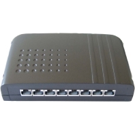 Image of 506129 - Smartbox LSA Cat.6A 8-Port, schwarz 506129