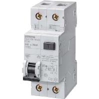 Aardlekschakelaar 1-polig 10 A 230 V Siemens 5SU1356-7KK10