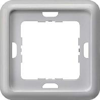 5TG1773 Frame 3-gang silver 5TG1773
