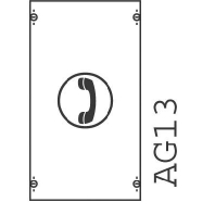 Image of 1MK00A - Verteilerfeld BH00 1-Feld H=450mm 1MK00A