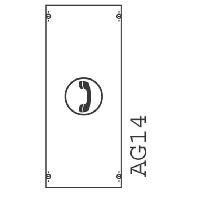 1MK0A  - Verteilerfeld BH0 1-Feld H=600mm 1MK0A