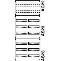 2V43KA  - Verteilerfeld BH4 2-Feld 2V43KA