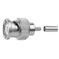 J01002A1288Y (5 Stück) - BNC-Kabelstecker Crimp G2 (RG-59 B/U) J01002A1288Y