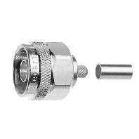 Telegärtner J01020A0108 N-connector Stekker, recht 50 Ω 1 stuks