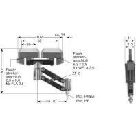 KST 2/40 PE - Doppelstromabnehmer KST 2/40 PE