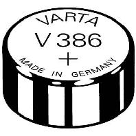 Image of V 386 Stk.1 (10 Stück) - Uhren-Batterie 1,55V/115mAh/Silber V 386 Stk.1