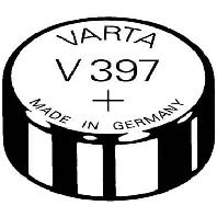 Image of V 397 Stk.1 (10 Stück) - Uhren-Batterie 1,55V/23mAh/Silber V 397 Stk.1