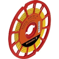 CLI C1-3GE/SW 1 CD (500 Stück) - Leitermarkierer Zahl 1 gelb1,5-4 CLI C1-3GE/SW 1 CD