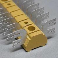 MF 1/8 4X6.3/2.8 (50 Stück) - Flachsteckanschluß MF 1/8 4X6.3/2.8