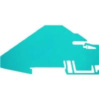 ZHP Z/W BL (20 Stück) - Trennwand 5mm blau ZHP Z/W BL