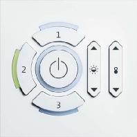 CIRCLE tune CCW - Lichtsteuerung kantigweiß CIRCLE tune CCW