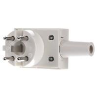 349.203 - Perilex Stecker ws 16A,400V,3p/N/PE 349.203