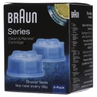 Braun Clean and Renew Cartridge 2 Stuks