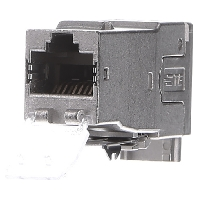0-1711160-1 (12 Stück) - RJ45-Buchse Twist6S SL mit Staubschutz 0-1711160-1