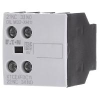 Moeller hulpcontactblok 1m 1v opzetba
