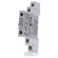 Moeller hulpcontactblok 2m 1v zijmont