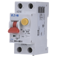Aardlekschakelaar-zekeringautomaat 2-polig 10 A 230 V Eaton 236946