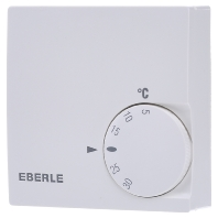 Eberle RTR-E 6121 Kamerthermostaat Opbouw Dagprogramma 5 tot 30 °C