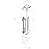 19----------D11 - Elektro-Türöffner ohne Schließblech 19----------D11