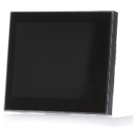 ELS 70261 CT KNX - ELS 70261 Corlo Touch KNX schwarz, Rand matt verchromt