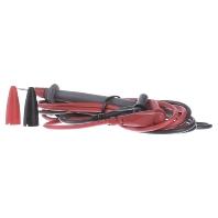 Fluke TL71-1 Veiligheidsmeetsnoerenset [ Banaanstekker 4 mm Testpunt] 1.5 m Zwart, Rood