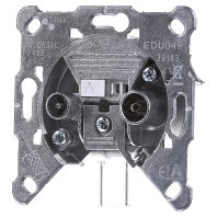004600  - Antennensteckdose EDU 04F 004600