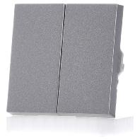 Gira seriewip E2 aluminium