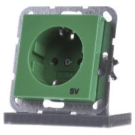 045502-schuko-steckdose-gn-gl-sv-045502, 7.06 EUR @ eibmarkt