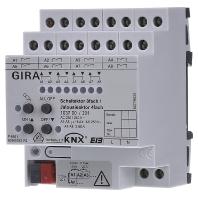 GIRA schakelactor bussyst KNX, bussyst KNX, DRA (DIN-rail ad)