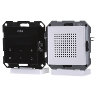 Gira digitale inbouwradio met RDS zuiverwit mat