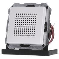 Gira luidspreker voor RDS radio zuiverwit glanzend