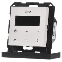 Gira inbouw radio creme glanzend 228401
