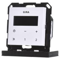 Gira inbouw radio zuiverwit glanzend 228403
