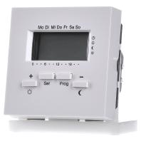 Gira klokthermostaat 230V zuiver wit glanzend F100