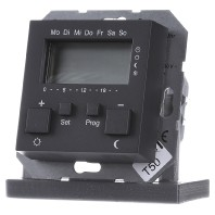Gira klokthermostaat 230V antraciet 55