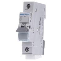 Zekeringautomaat 10 A Hager MBN110