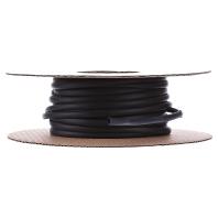 Box krimpslangen HIS-3 Ø voor-na krimpen: 3 mm-1 mm Krimpverhouding 3:1 10 m Zwart