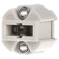 502004 - Fassung G9 Ker,f.HV-Glühl.,M3 502004