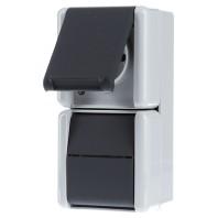 steckdosen kombi aufputz preisvergleich die besten angebote online kaufen. Black Bedroom Furniture Sets. Home Design Ideas