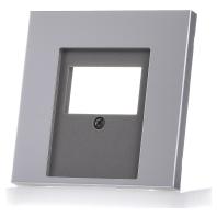 Jung inzetplaat USB luidspreker AL2969T aluminium