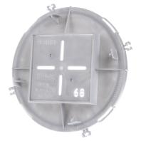 1281-08 (10 Stück) - Frontteil HaloX 100 DA 68x68 für O-Beton 1281-08