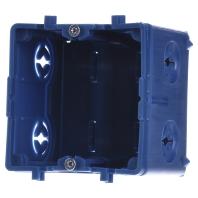 KED65 - Geräteeinbaudose Brüstungskanal KED65