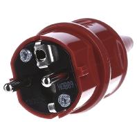 Image of 10839 - Schuko-Stecker 16A,2p+E,230V,rt 10839