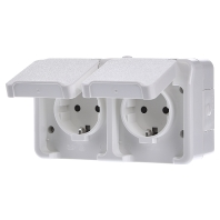 MEG2320-8019 Socket outlet protective contact white MEG2320-8019, special offer