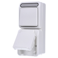 MEG3494-8019 Combination switch-wall socket outlet MEG3494-8019, special offer