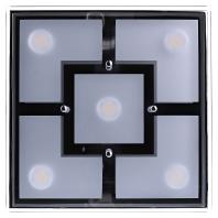6105-17  - LED-Deckenleuchte chr 5x4,8W 6105-17