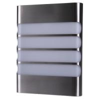 energie A+, LED-wandlamp myGarden Raccoon staal 1 lichtbron, Philips