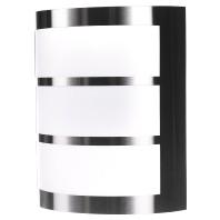 Wandlamp Python inox
